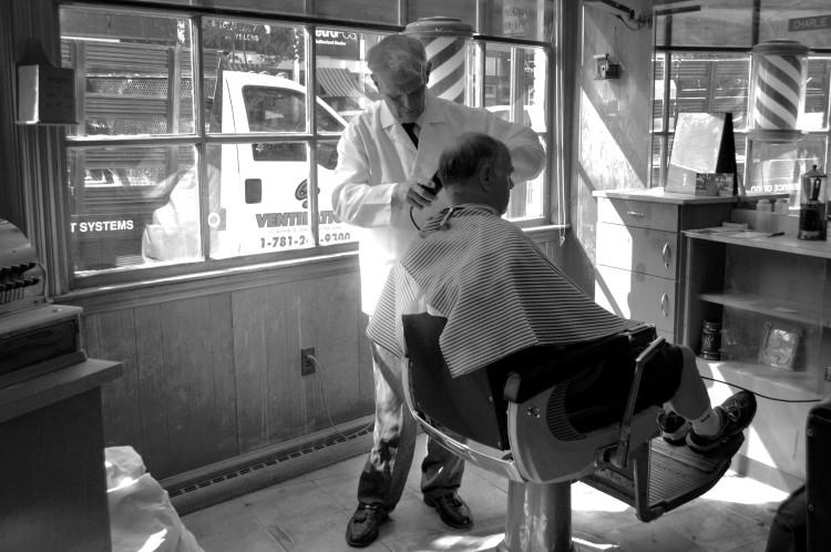 Sarah's barber