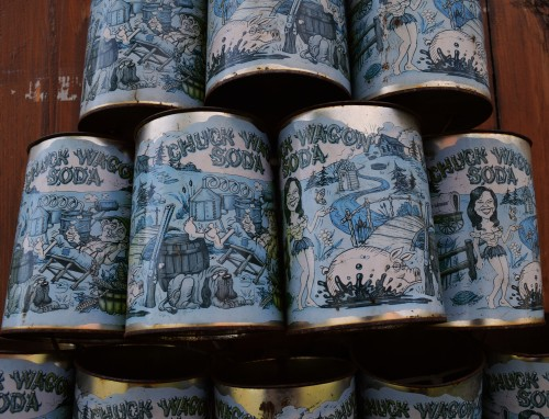 Blue Cans